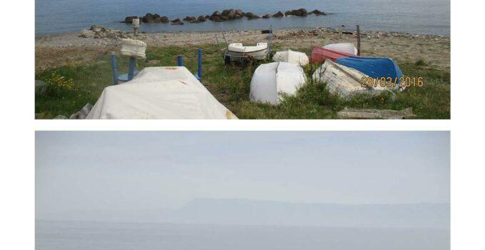 Erosione costiera a Messina