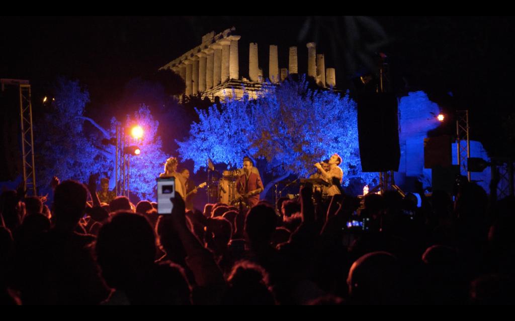 Lo sfogo dei festival musicali