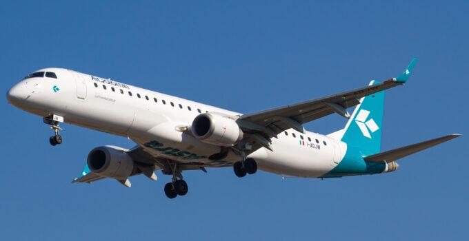 Air Dolomiti riparte dall'Italia