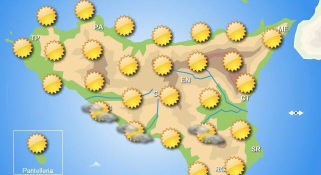 Meteo venerdì 29 maggio Sicilia
