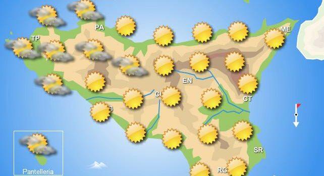 Meteo weekend 9-10 maggio Sicilia
