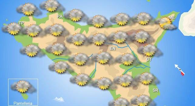Meteo mercoledì 13 maggio Sicilia