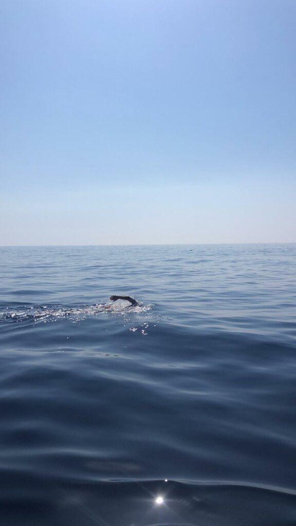 Dalla Sicilia a Malta a nuoto