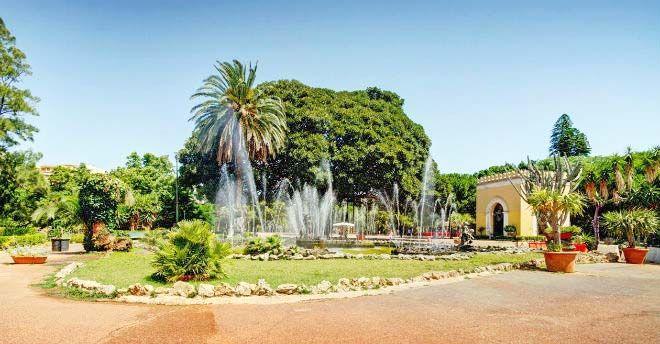Ville e giardini a Palermo
