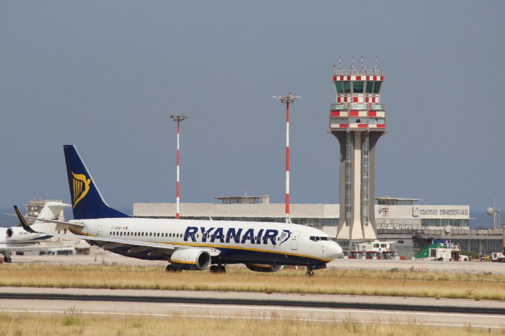 Torna Ryanair a Palermo
