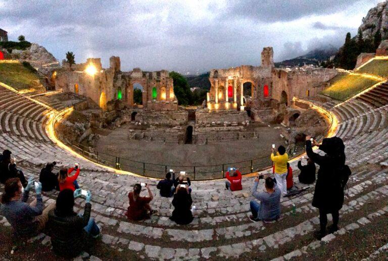 Riapertura parco Naxos Taormina, oltre 1100 visite nel ...