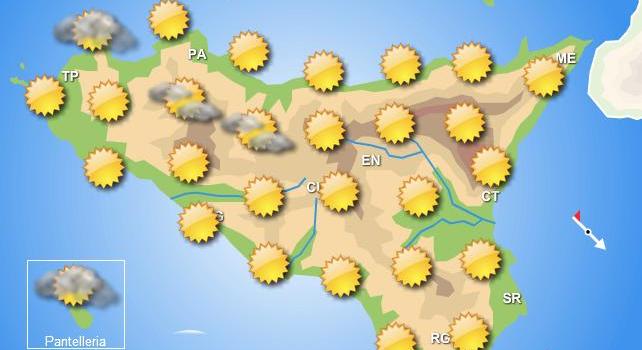 Meteo weekend 27-28 giugno Sicilia
