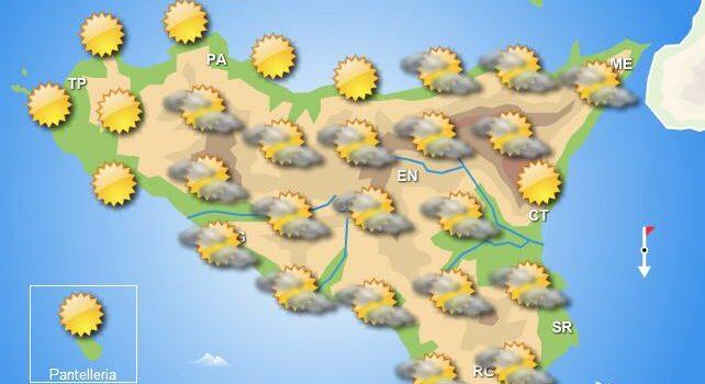Meteo giovedì 10 giugno Sicilia
