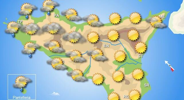 Meteo weekend 13-14 giugno Sicilia