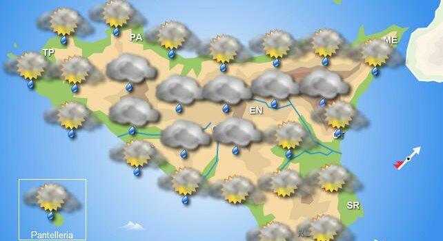 Meteo venerdì 5 giugno Sicilia