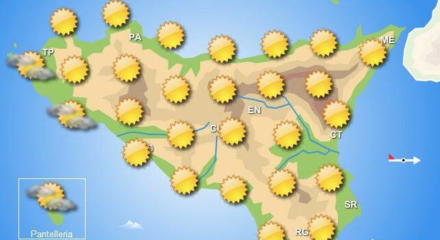 Meteo martedì 9 giugno Sicilia