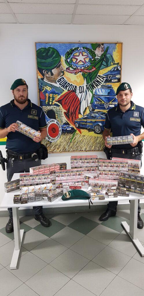 Oltre 16 kg di sigarette di contrabbando