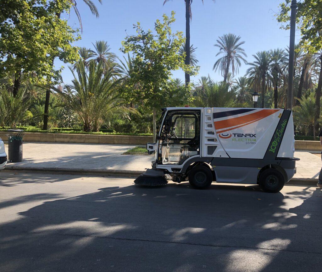 Mini spazzatrici elettriche a Palermo