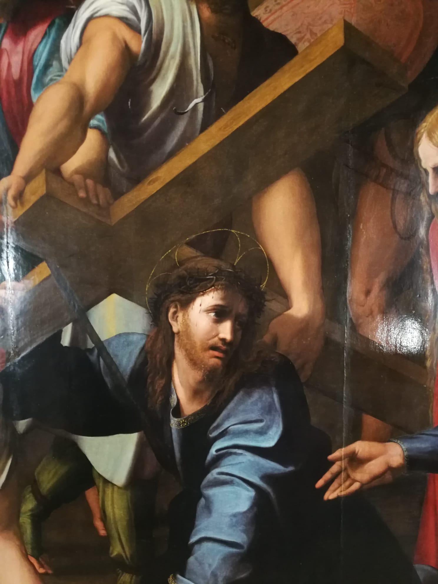 Il recupero dell'altare cinquecentesco