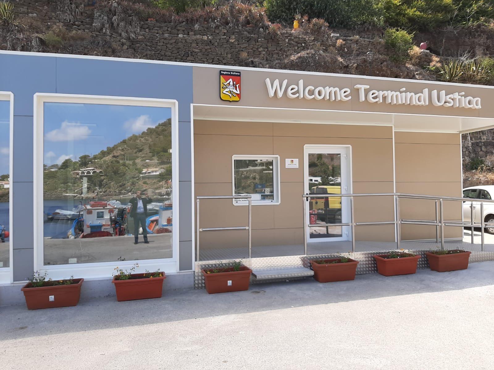 Ustica, inaugurata la stazione marittima realizzata dalla Regione