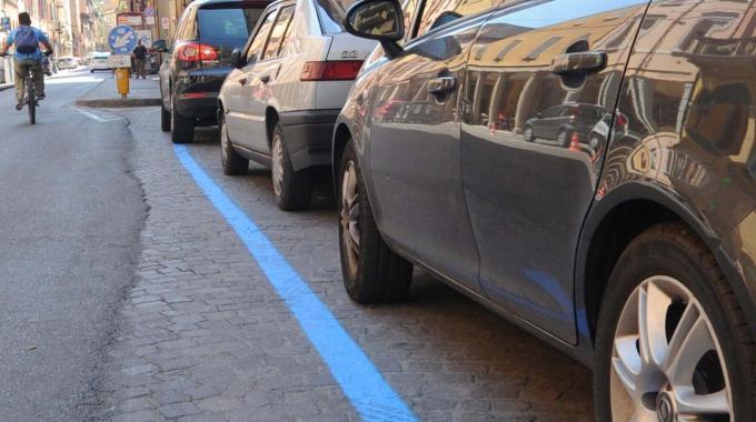 Strisce blu a Palermo