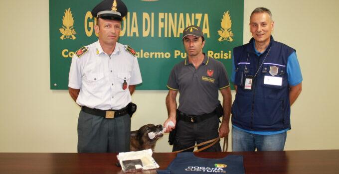 Francese atterra a Palermo con droga