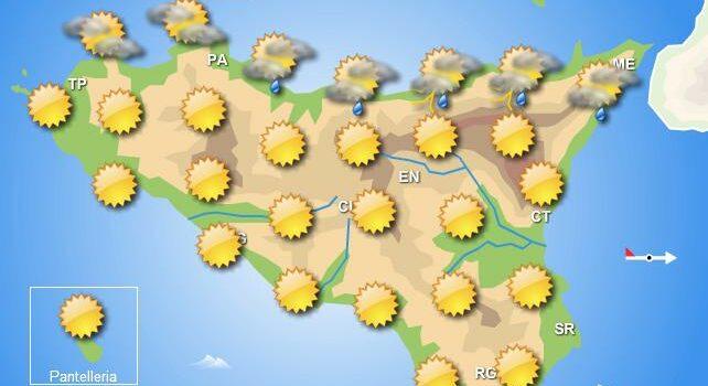 Meteo weekend 8-9 agosto Sicilia