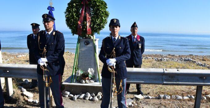 Commemorazione agente Agostino