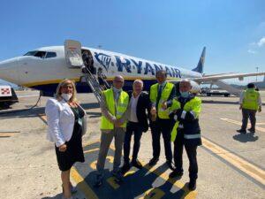 Vertici Gesap Palermo incontrano Ceo di Ryanair