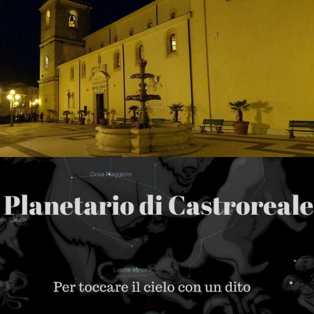 Ferragosto Castroreale by night