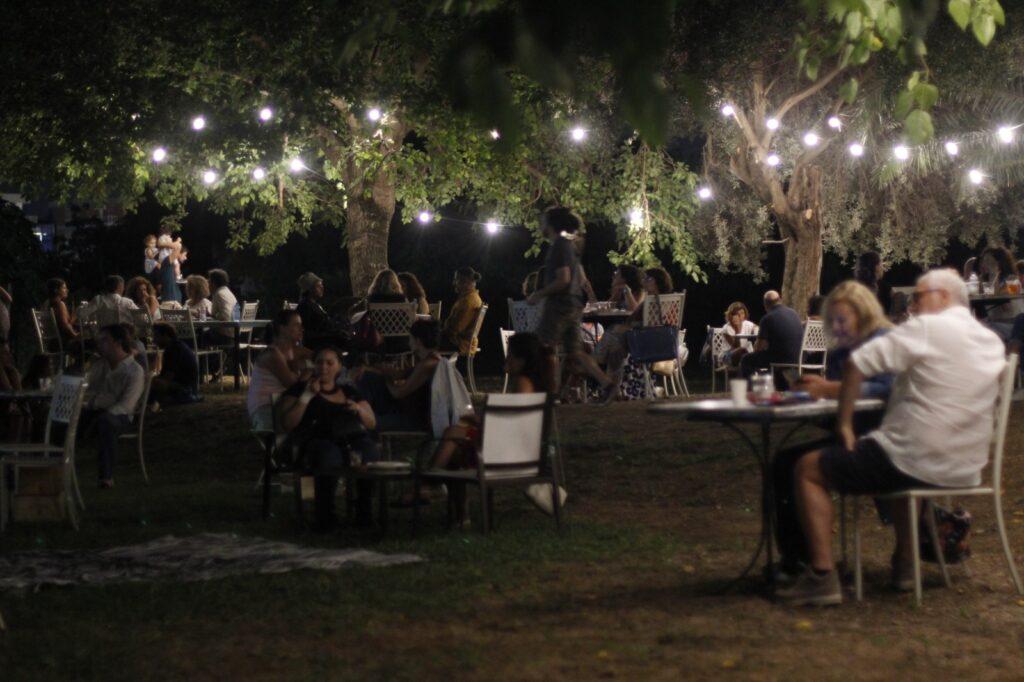Le sere d'estate al parco di Villa Tasca