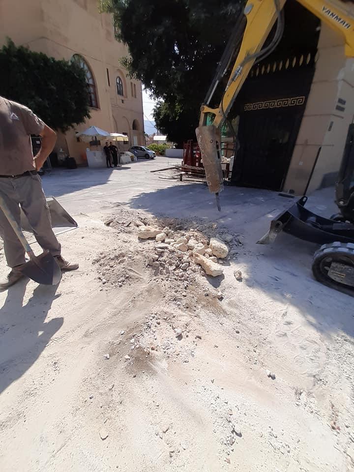 pilastro villa igiea demolito