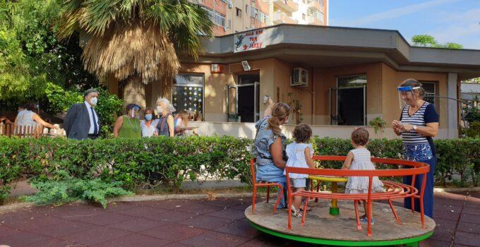 Riaperti asili nido Palermo