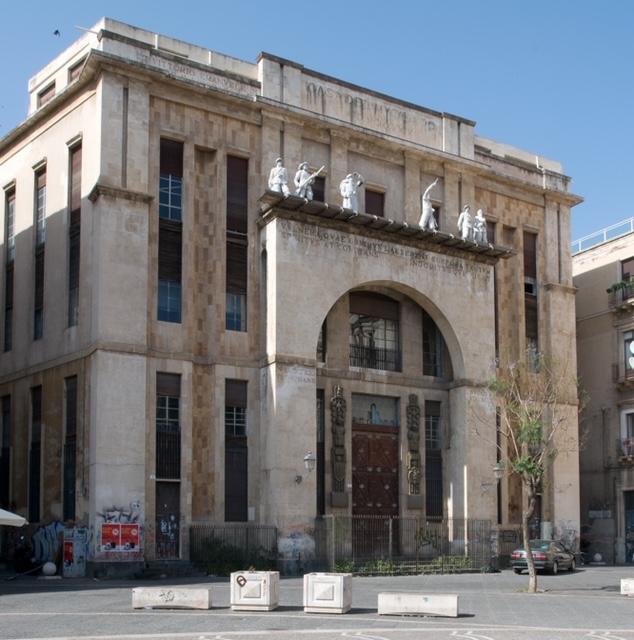 La Casa del Mutilato di Catania