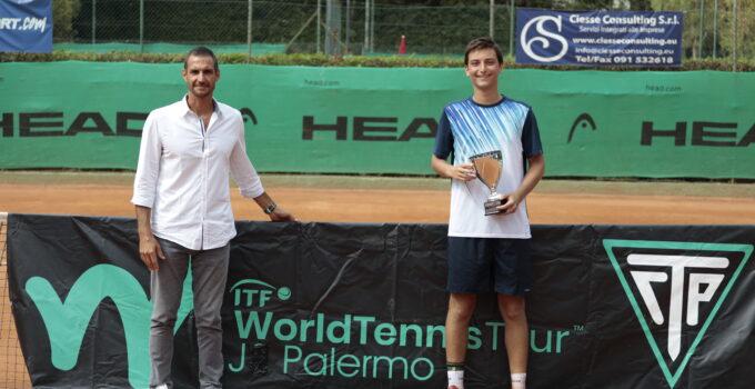 I vincitori degli Itf Junior di Palermo
