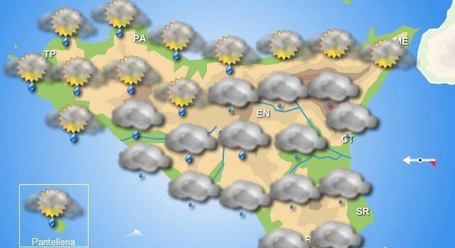 meteo sicilia domenica
