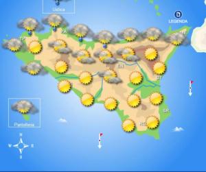 Meteo Sicilia di lunedì 19 ottobre