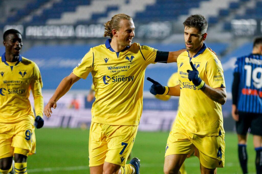 Veloso e Zaccagni lanciano il Verona, battuta l'Atalanta