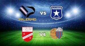 Serie C, sconfitta Catania. Palermo, prima vittoria in casa
