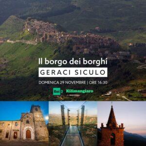 Geraci Siculo partecipa al Borgo dei Borghi 2020: domenica su Rai3
