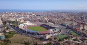 Catania, stadio Massimino: la gestione andrà a società private