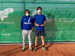 Tennis Itf junior Gradi 3, il siciliano Piraino si arrende al romano Minighini