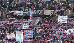 Catania-Palermo 0-1, Santana regala il derby ai rosanero