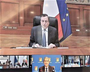 """Enti locali, Musumeci scrive a Draghi: """"Roma faccia la sua parte"""""""