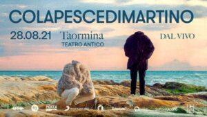ColapesceDimartino al Teatro antico di Taormina il 28 agosto: riparte la musica dal vivo
