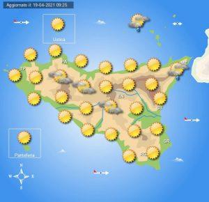 Meteo Sicilia di martedì 20 aprile