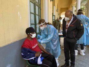Più di cento vaccinati oggi nella Missione di Biagio Conte a Palermo