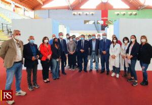 """Covid, inaugurato l'hub vaccinale di Cefalù. Cordaro: """"Azione concreta per la ripresa"""""""