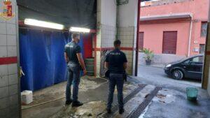 Sfruttamento di lavoro minorile e di extracomunitari in autolavaggio a Catania