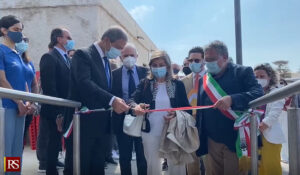 Turismo, Musumeci a Favignana inaugura la stazione marittima