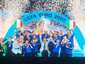 Italia campione d'Europa, Inghilterra ko ai rigori