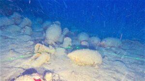 Isola delle Femmine, ritrovata una nave romana a 92 metri di profondità