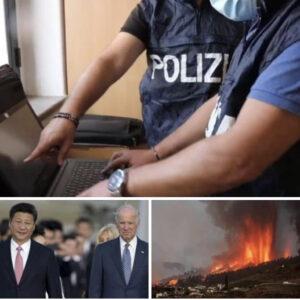 Tanomattinale 22 settembre 2021: orchi, arresti e denunce; Biden e Xi all'ONU; la lava avanza nelle Canarie