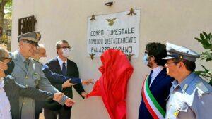 Corpo forestale, Cordaro inaugura il distaccamento di Palazzo Adriano