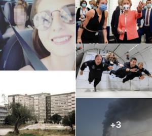 """#Tanomattinale 16 settembre 2021: Alessandra, nuova vittima della mattanza, la bimba e la cocaina, Bebe regina a Strasburgo, """"allora si può fare"""", i turisti dello spazio, i sindaci dell'Etna e la cenere, Mauro De Mauro"""